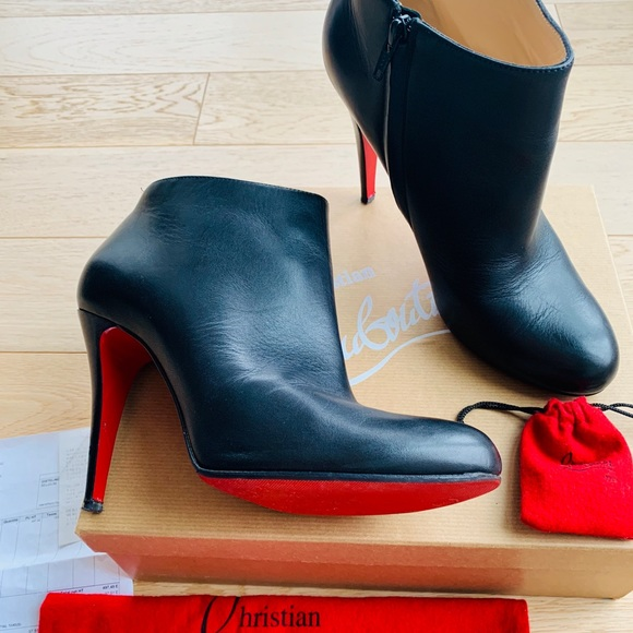 8e89c68864de Christian Louboutin Shoes - Christian Louboutin Belle 100 Calf Ankle Boots  ❤️